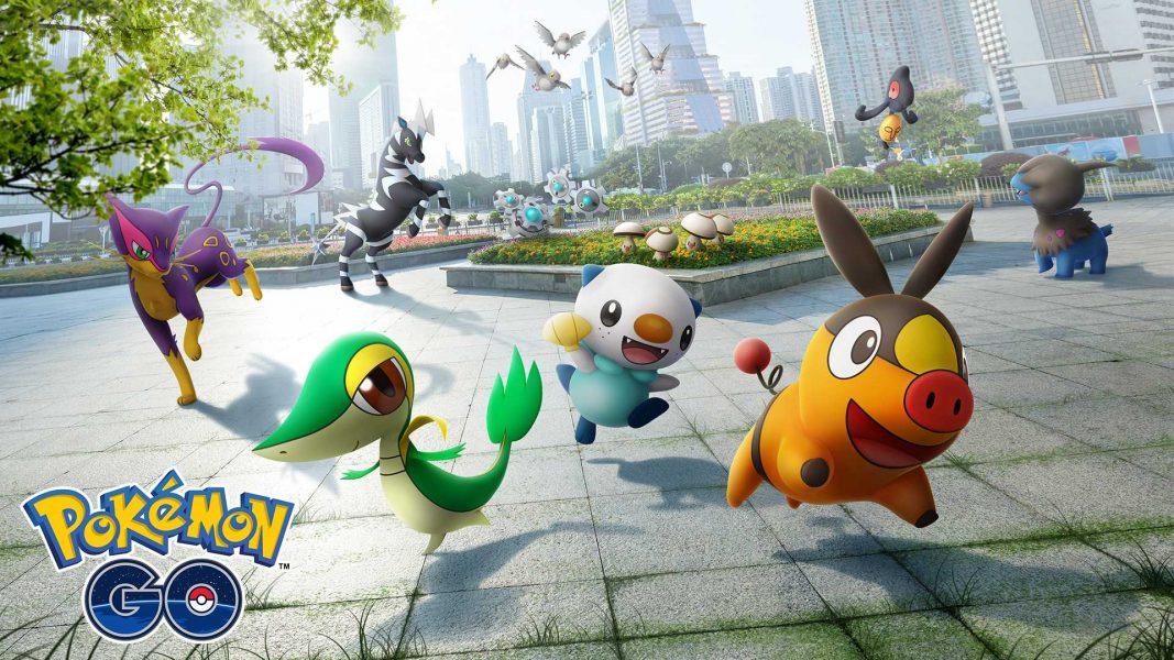 Pokemon Go 5ème génération