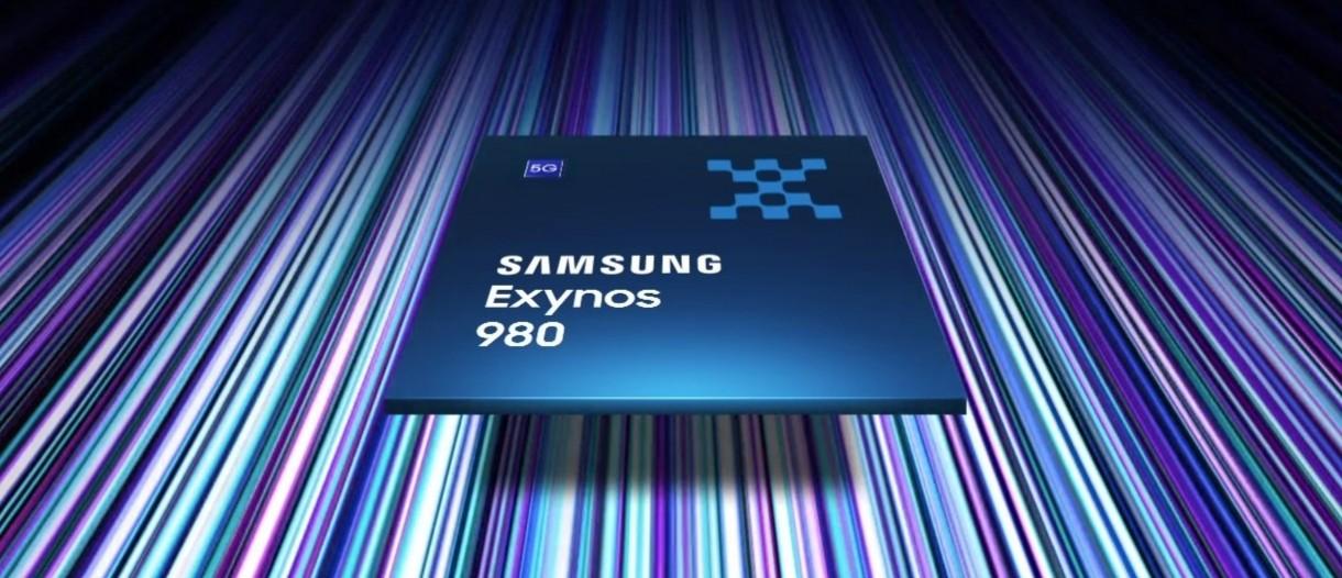 Exynos 980 : le premier SoC mobile 5G de Samsung est officiel