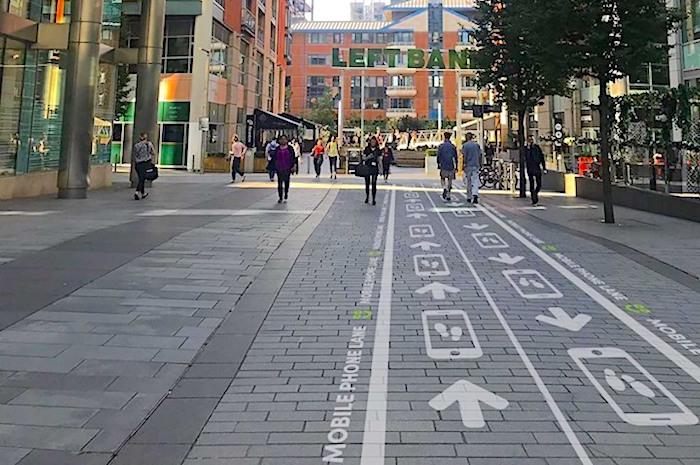 Smartphone à Manchester