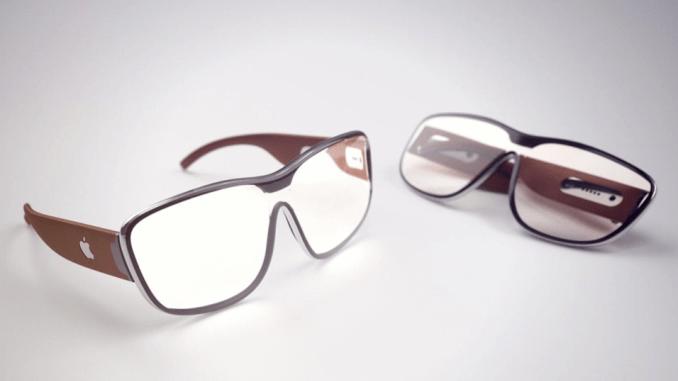 Apple lunettes réalitée augmentée