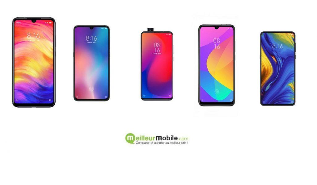 Les meilleurs smartphones Xiaomi en 2019