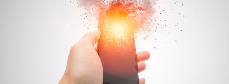 Smartphone Explosion 770x285 - Au Kazakhstan, un smartphone explose et tue son utilisateur durant son sommeil