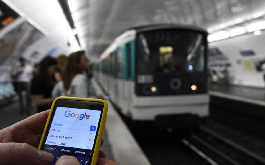 245PLKBBHQMCJQWSM6D7JW5QSI - La couverture mobile 4G dans le métro parisien