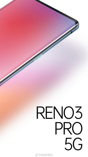 OPPO REno3 Pro 5G poser 576x1024 338x600 - Oppo dévoile la première image de son Oppo Reno 3 Pro 5G
