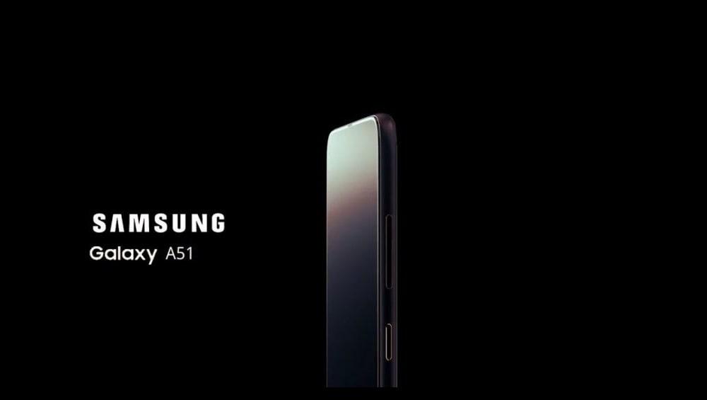 Samsung Galaxy A51 Specs min - Le Samsung Galaxy A51 se dévoile dans un rendu 3D