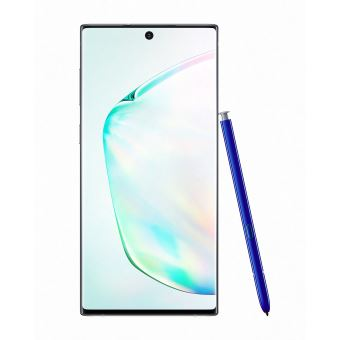 Smartphone Samsung Galaxy Note 10 Double SIM 256 Go Argent - Black Friday : notre sélection des meilleurs smartphones Samsung en promotion