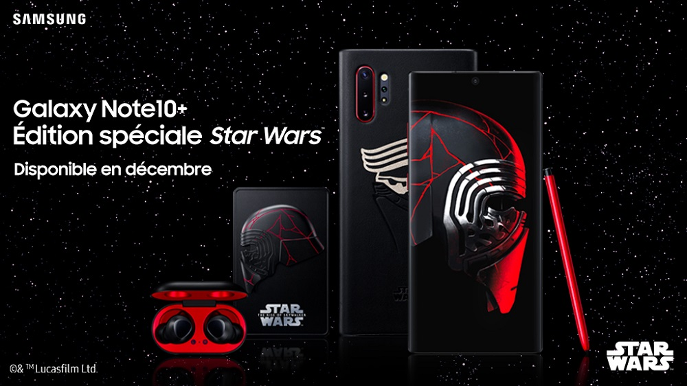 Star Wars Galaxy Note 10 +
