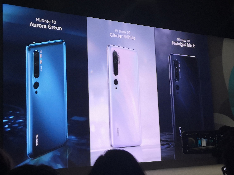 img 20191106 1153045474469814975153840 - Le Xiaomi Mi Note 10 est officiel : c'est un quintette rythmé avec un numéro complémentaire