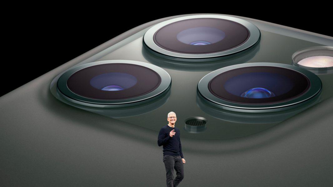 iPhone 11 Pro lenses 1066x600 - Apple : un nouveau stabilisateur pour les iPhone de 2020