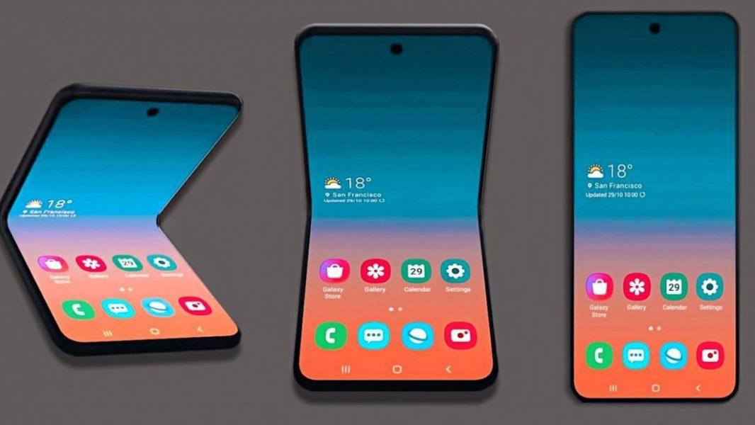 samsung futur smartphone pliable clapet Blog SFAM 1100x619 1066x600 - Le nouveau smartphone pliant de Samsung dévoilé à travers une fuite
