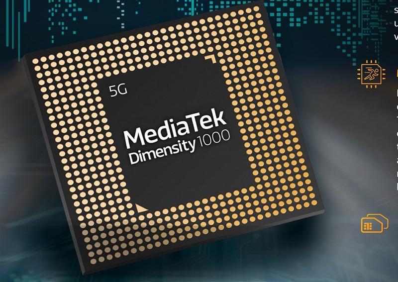 MediaTek Dimensity 1000 5G SoC 1 - Mediatek annonce une puce 5G pour les smartphones d'entrée de gamme