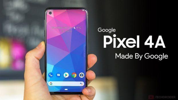 Pixel 4 - Oubliez la version XL Google Pixel 4a