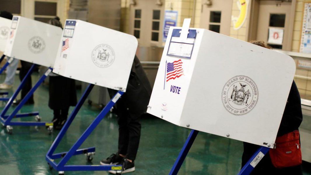 Vote Etats Unis smartphone