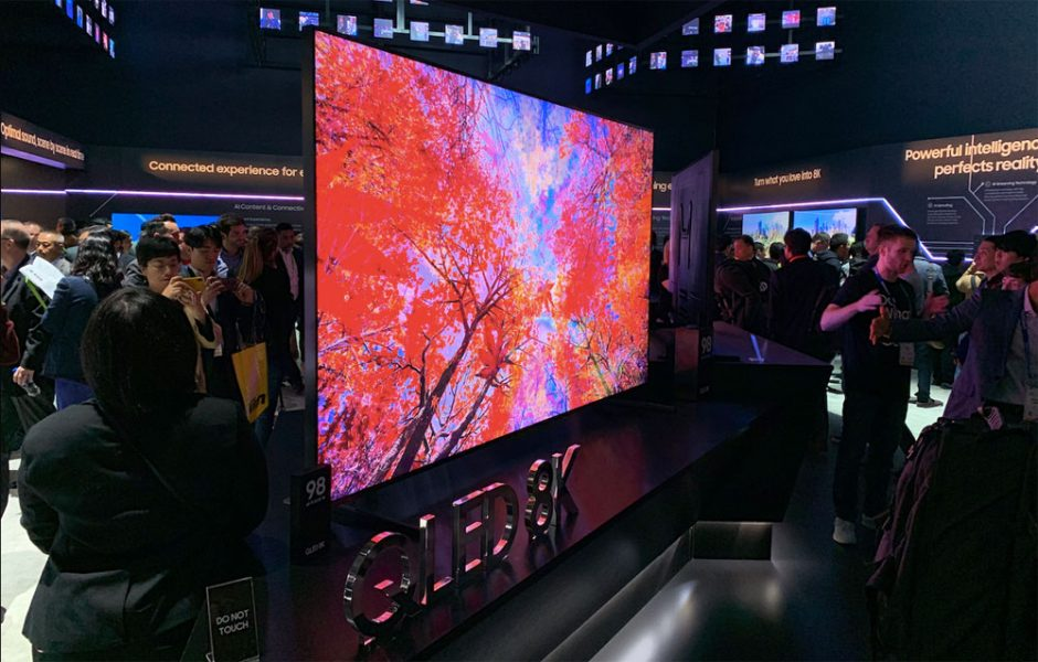 samsungq950r 1 940x600 - CES 2020 : Samasung & LG misent sur un design peaufiné pour leur TV