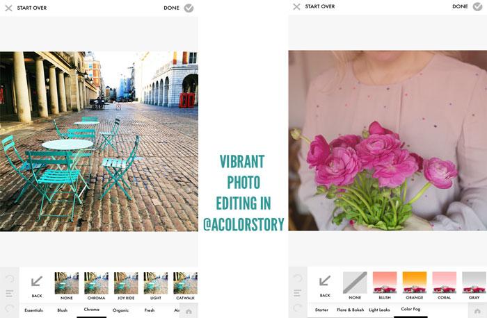 xantheberkeley acolorstory - Top des applications pour sublimer vos posts sur Instagram