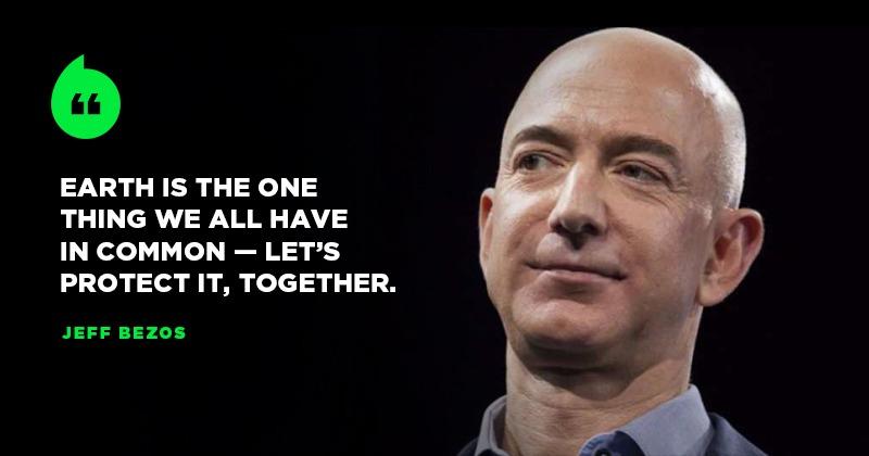 Jeff Bezos donne 10 milliards de dollars pour lutter contre le réchauffement