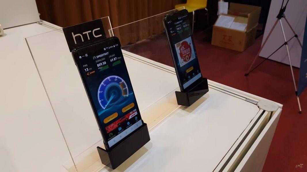 HTC smartphone 5G