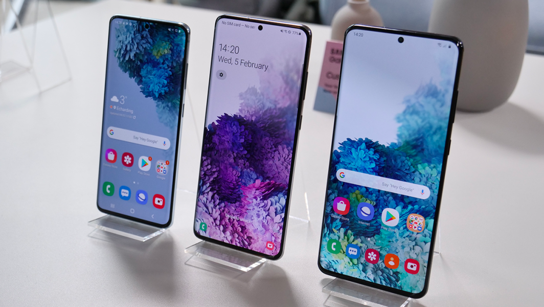 S20 1064x600 - La gamme des Samsung Galaxy S20 est officielle