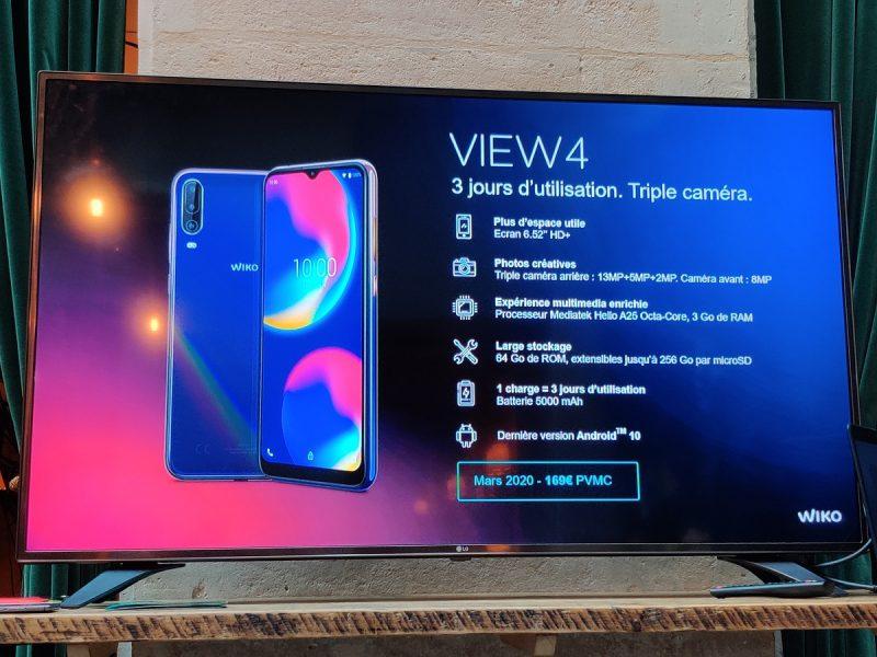 Wiko View 4 FT 800x600 - Wiko dévoile les View 4 et View 4 Lite : entre modernité et continuité
