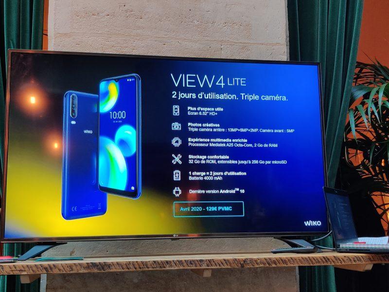 Wiko View 4 Lite 800x600 - Wiko dévoile les View 4 et View 4 Lite : entre modernité et continuité