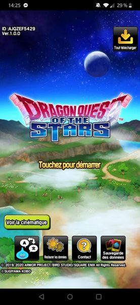Dragon Quest logo 277x600 - [ Test ] Dragon Quest of the Stars : l'aventure sur mobile prend un nouveau tournant