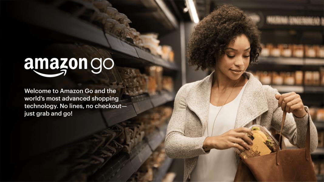 """amazon go scaled 1067x600 - Amazon : son concept magasin """"sans caissiers"""" bientôt racheté"""