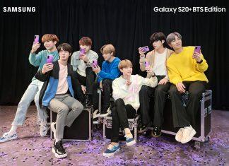 Samsung Galaxy S20+ BTS