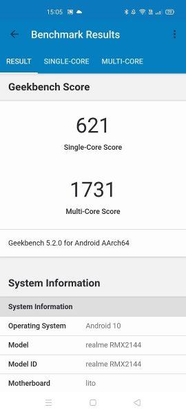 benchmark 1 270x600 - [ Test ] Realme X50 5G : un grand à tout petit prix