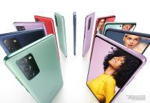 Samsung Galaxy S20 FE smartphones