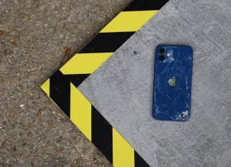 Coverd chute iPhone 12