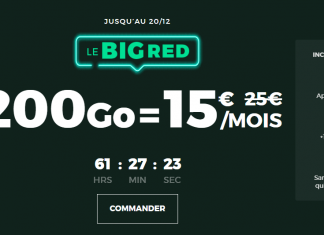 Big RED 200 Go