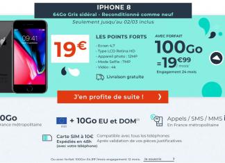 Forfait Cdiscount 100 Go & iPhone