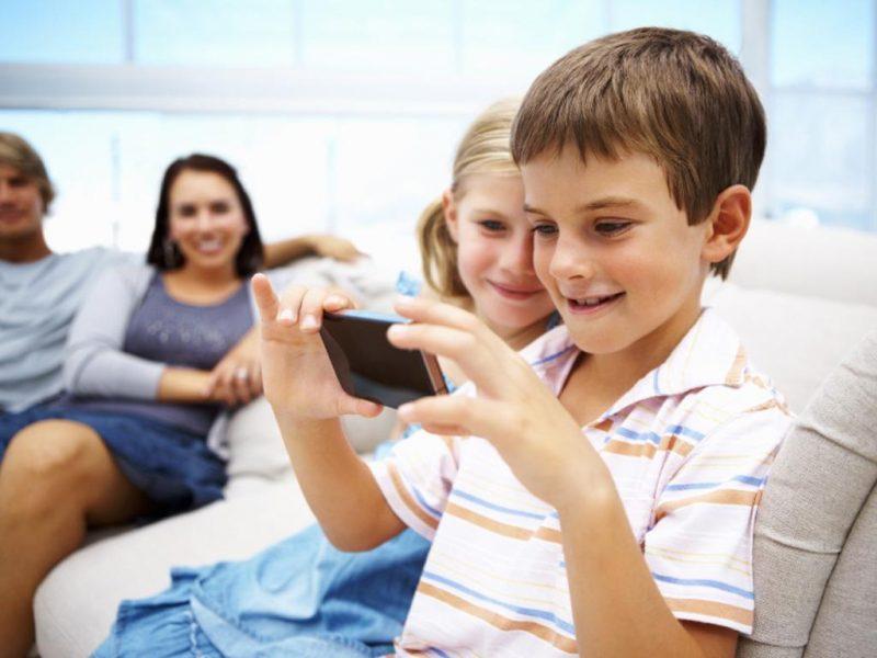 Contrôle parental sur smartphone