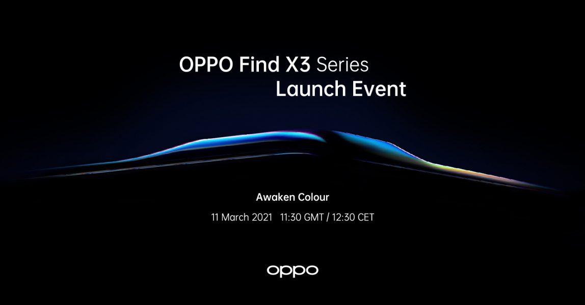 Oppo Find X3 1148x600 - Oppo Find X3 : c'est officiel la gamme sera présentée le 11 mars