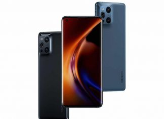 Oppo Find X3 Pro gamme