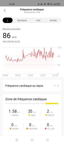 Zepp Z application 4 270x600 - Test de la Zepp Z : de l'élégance au profit de la connectivité