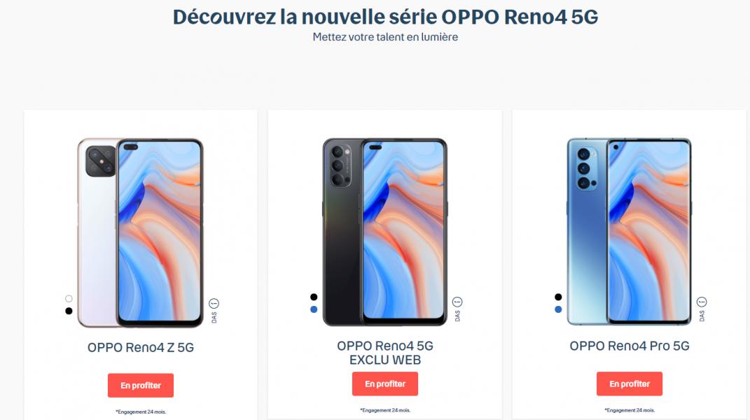 telephone Oppo Bouygues