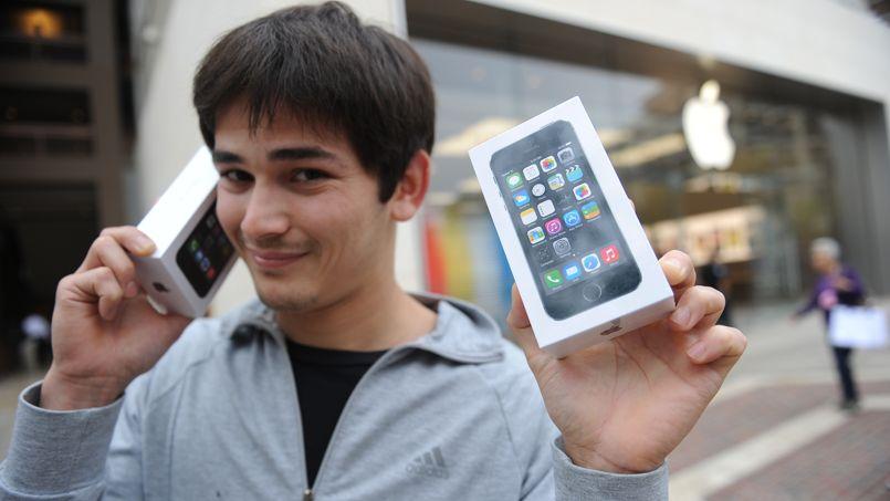 iPhone jeunes