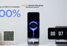 Xiaomi charge rapide