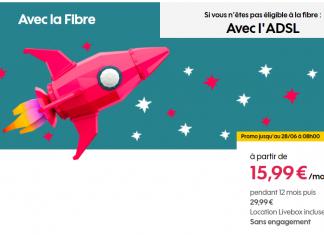 Bon plan : la boîte Sosh Fibre disponible à partir de 15,99 euros par mois