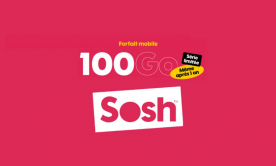 Bon plan : le forfait Sosh Série Limitée à 100 Go disponible dès 15,99 euros par mois