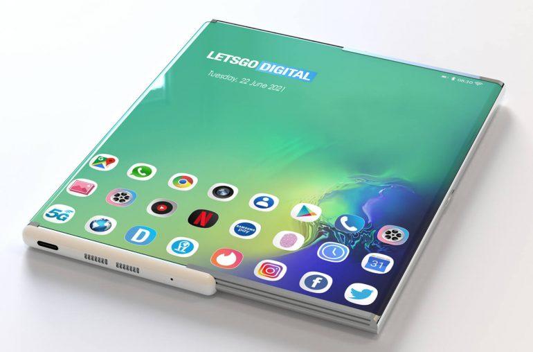Samsung écran enroulable