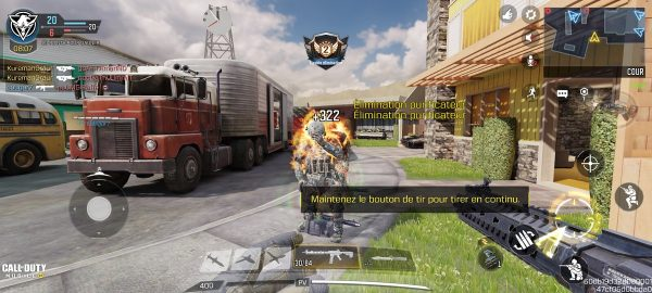 Call of Duty Mobile Realme GT 4 600x270 - Test du Realme GT : le smartphone à grande vitesse sort du paddock