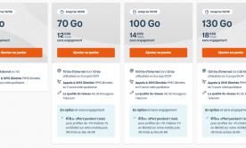 Le forfait B&YOU 130 Go disponible à 18,99 euros par mois