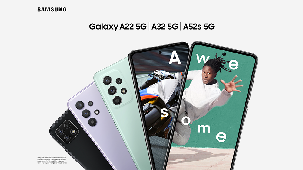 Gamme Galaxy - Samsung dévoile le Galaxy A52s 5G : un smartphone 5G complet à 450 euros