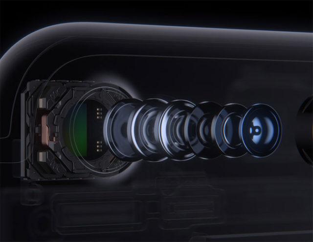 Apple iPhone capteur photo
