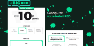 Forfait BIG RED