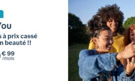 Le retour des offres Very B&YOU : jusqu'à 200 Go pour 14,99 euros par mois