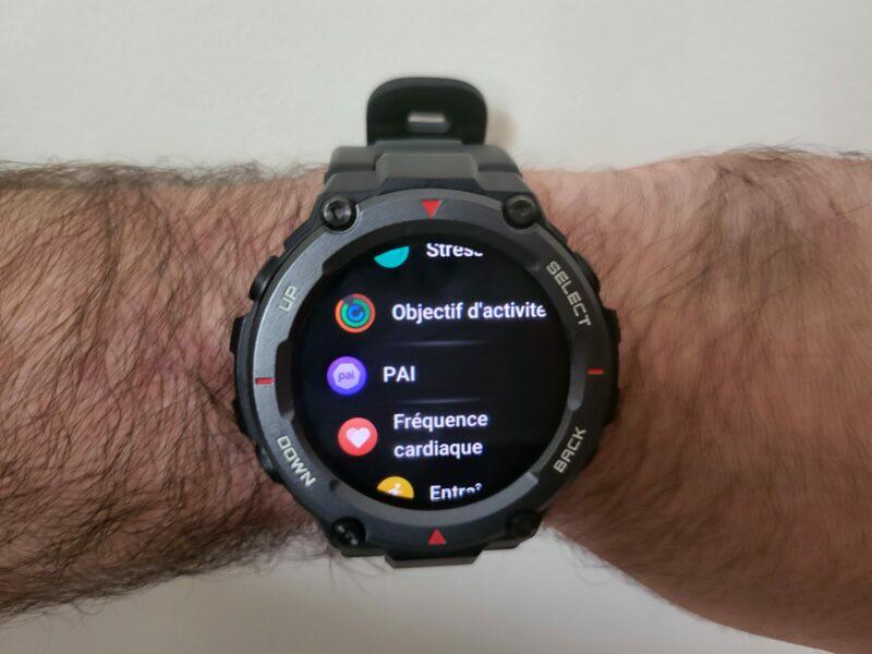20210927 114239 800x600 - Test de la Huami T-Rex Pro : la montre connectée aux dents longues